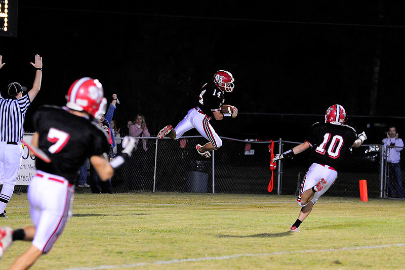 Yep...that's a leap for joy touchdown!