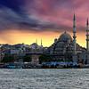 Istanbul Turkey - Photoshopped