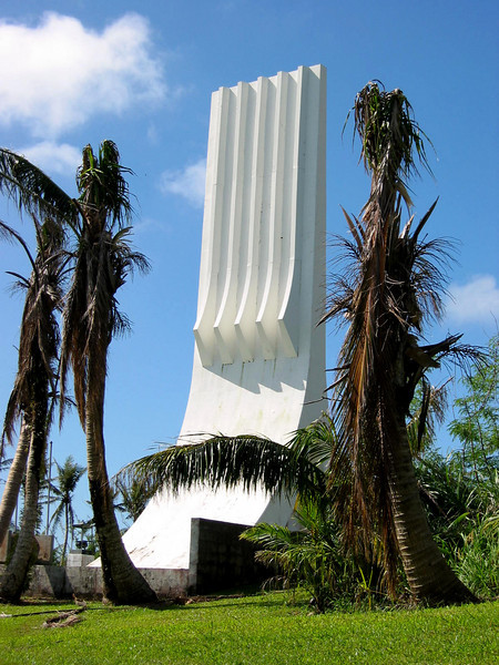 Praying Hands - Memorial to Japanese Soldiers, Guam