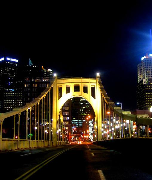 Roberto Clemente Bridge, Pittsburgh PA - Best City in the World