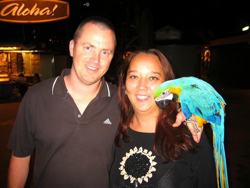 Honolulu, HI - Me and my Wife
