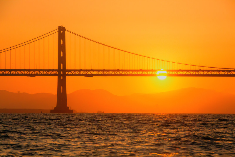 Have I said how much I love working for Commodore Events? Part of my job requires me to be on boats in the middle of the San Francisco Bay on beautiful May days with amazing sunsets falling behind the Bay Bridge. Life is rough. I am actually very happy I was able to get this photo as clear as it is, since the very choppy condition of the water made for an incredibly difficult shoot. This was probably the most challenging shoot of my career, but obviously, well worth it!