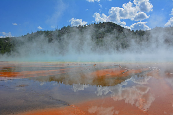 One of the most beautiful Geyser's in Yellowstone.