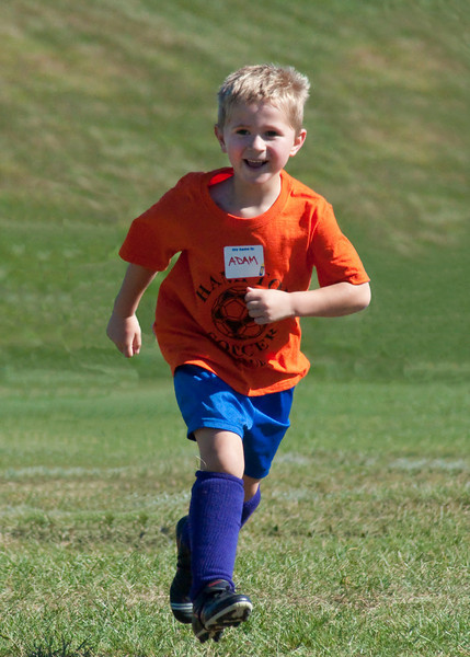 Adam is more excited about soccer this year!