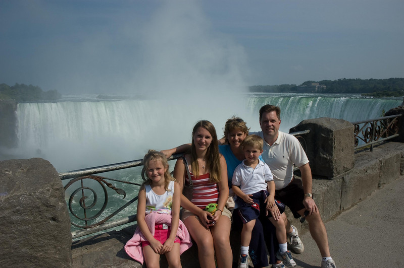 Overlooking Horseshoe Falls, Canadian side