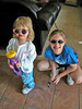 Two cool girls! March 2003.