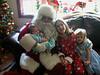 Santa visits in 2003.