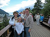 Overlooking our cruise ship in Skagway, Alaska. July 2003.