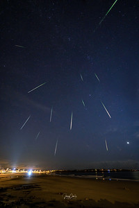 Perseids Meteor Showers Stack1b