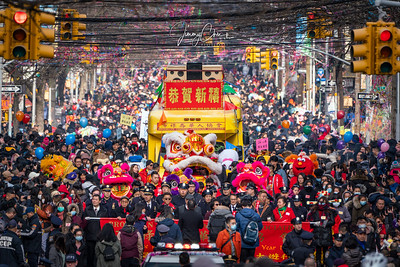 Brooklyn Chinese America Association New Year Parade 2020