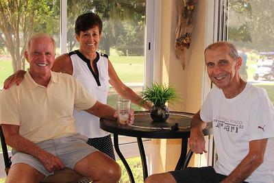 """Jan, Corky and John  at """"The Villages"""""""
