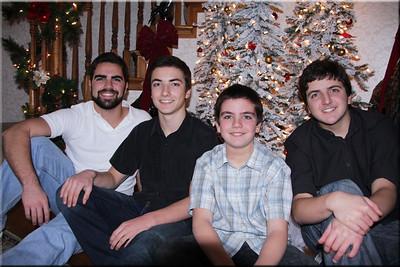 Boys...Christmas 2014