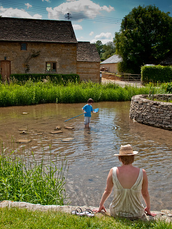 Sunday in the Cotswolds