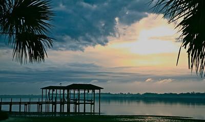 Sunrise in Lynn Haven
