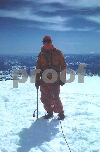 On top of Mt Rainier 1970