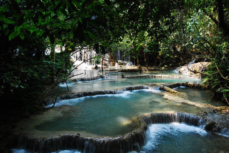 Kuang Si Falls, 30km outside of Luang Prabang Laos