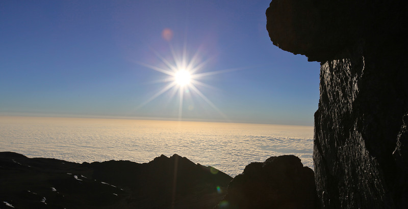 Top of Kilimanjaro, Tanzania
