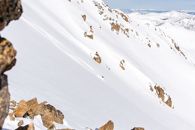 Dave Bourassa, 13,215' Hassell Peak, Front Range, CO