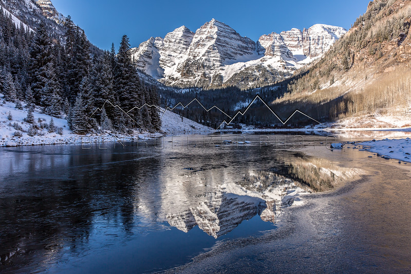 Maroon Bells, Elk Range, CO