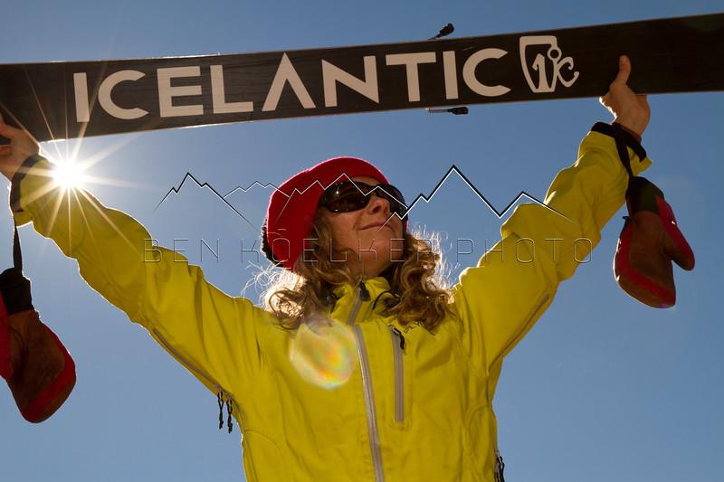 Rebecca Selig, Icelantic Skis
