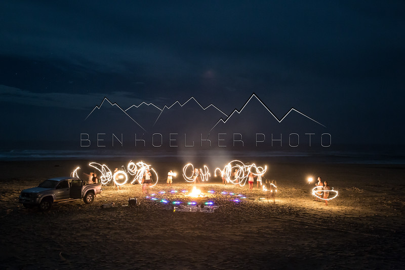 Long Exposure Photo, Surf Colony, BCS Mexico