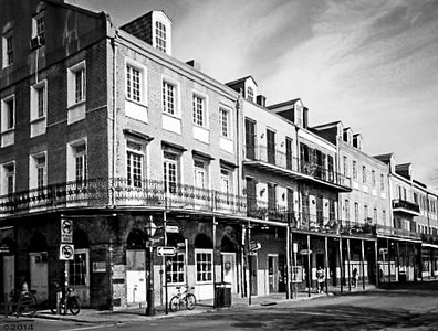 03-01-12 NOLA neighborhood taken in the morning hours when the City was waking up from its boisterous and profitable nightlife - corner of Decatur & Barracks @ the edge of the French Quarter