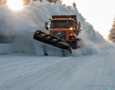 Alger County Snow Plow | Grand Marais, MI | Upper Peninsula