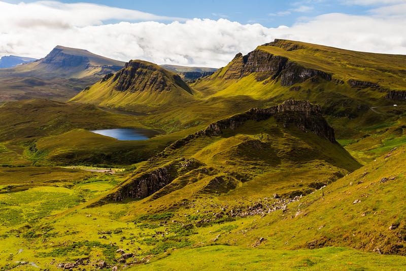 Quiraing, Skye Island, Scotland