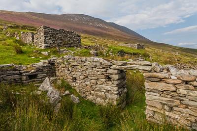 Slievemore Deserted Village, Achill, Ireland