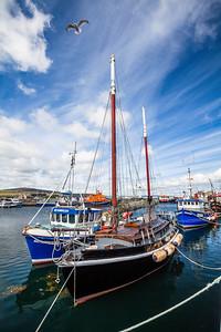 Kirkwall Port, Orkney, Scotland