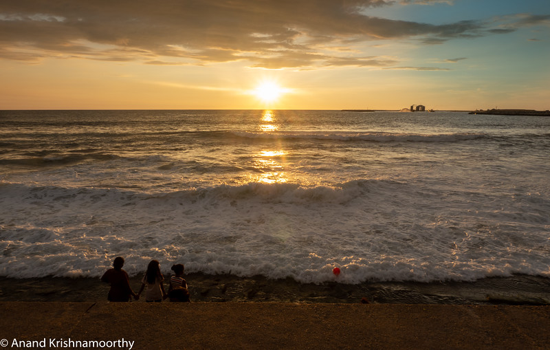Sunset at Colombo Beach