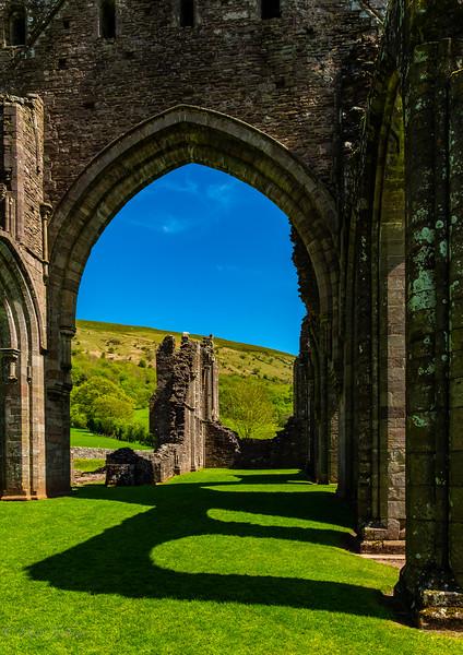 Llanthony Abbey. Vale of Ewyas