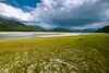 Abraham Lake bed.