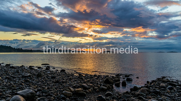 Sunset at High Tide
