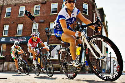 Canada Games Criterium, women's event, northwest corner