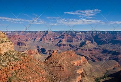 Scenic view of Grand Canyon landscape