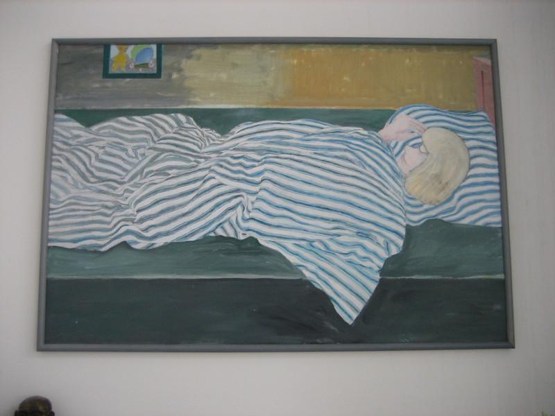 Sovende Pige
