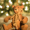 Wooden Christmas Bear