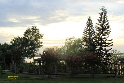 Sunset over looking Lake Apopka