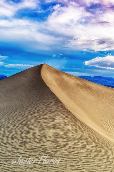 Mesquite Flats Dunes Death Valley