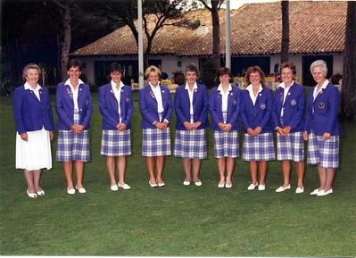 European Junior Championship  - Bl Pals 1989