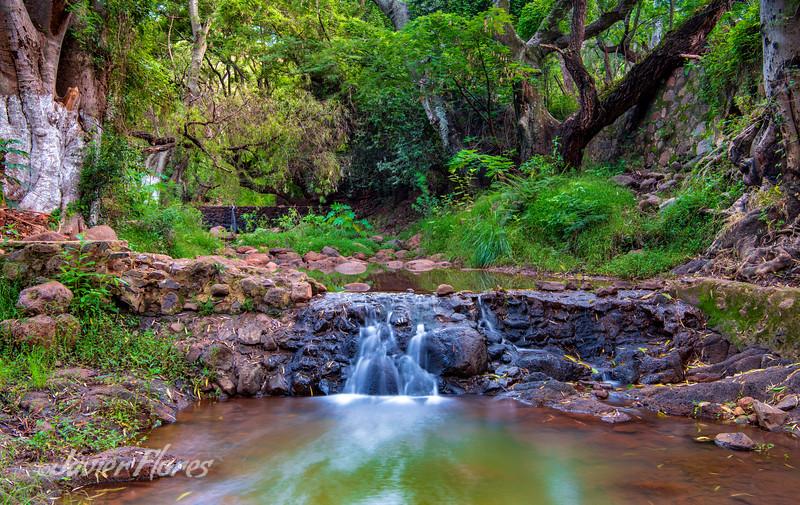 Taretan Waterfall and River
