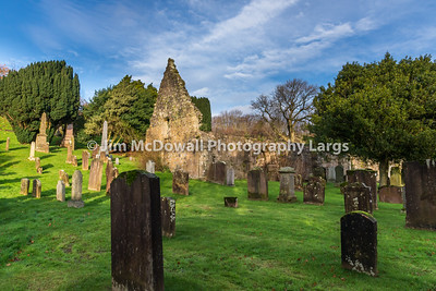 Kirkoswald Graveyard Ayrshire made famous by Robert Burns.