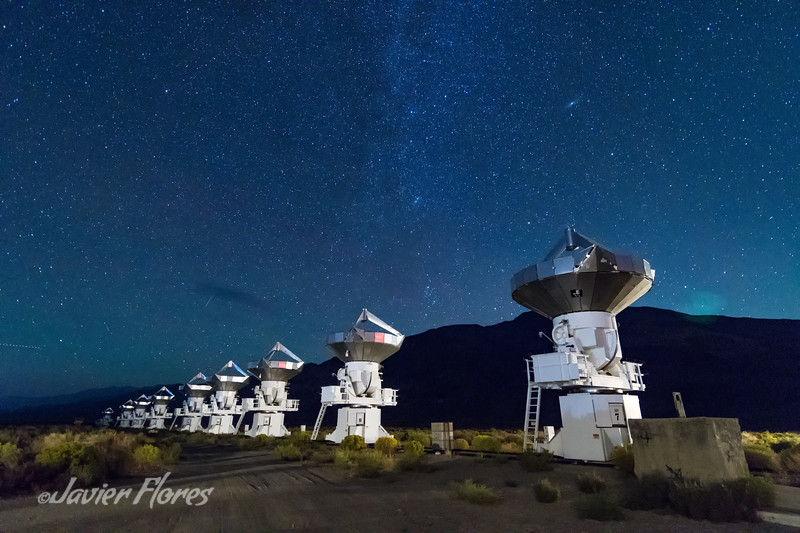 Owens Valley Radio Observatory Array with Milkyway