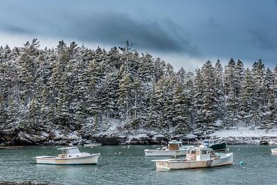 Harbor in Westpoint, Maine