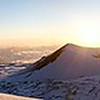 A panoramic view from the summit of Mauna Kea