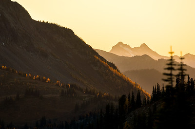 Last Light on La Larches 2,  Mt. Carlyle BC
