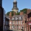 Cross Hill and St. Chads church, Shrewsbury.