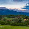 Tuscany Rolling Hills, Sunset
