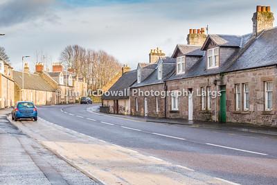 Kirkoswald Main Street Ayrshire Scotland.